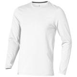 Elevate Męski T-shirt organiczny Ponoka z długim rękawem (38018010)