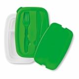 DILUNCH Lunch box ze sztućcami z nadrukiem (MO8518-09)