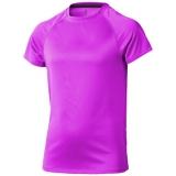 Elevate Dziecięcy T-shirt Niagara z krótkim rękawem z tkaniny Cool Fit odprowadzającej wilgoć (39012201)