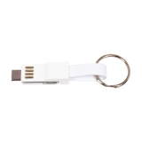 Brelok do kluczy, kabel do ładowania i synchronizacji (V9489-02)