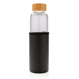 Szklana butelka sportowa 550 ml w pokrowcu (P436.291)