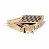 TRIKES 4 gry w drewnianym op z logo (KC2941-40)