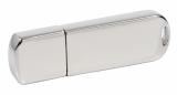 Elegancki Chromowany Pendrive z grawerem GRATIS (PDm-16_16GB-USB3.0)