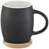 Avenue Ceramiczny kubek Hearth z drewnianym wiekiem/spodeczkiem (10046600)