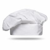 CHEF Bawełniana czapka szefa kuchni MO8409-06 z logo (MO8409-06)