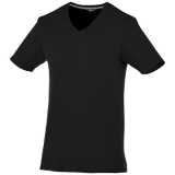Slazenger Męski T-shirt Bosey z krótkim rękawem z dekoltem w serek (33021990)