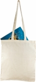 Bawełniana torba na zakupy, beżowy z nadrukiem (R08512)