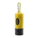 Zasobnik z woreczkami na psie odchody, lampka LED (V9634-08)