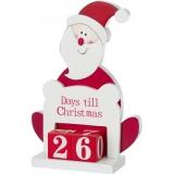 Dekoracja Święty Mikołaj, kalendarz adwentowy (V9508-52)