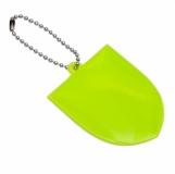 Brelok odblaskowy Crest, zielony z logo (R73215.05)