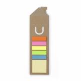 Karteczki samoprzylepne, zakładka do książki, linijka (V2552-16)