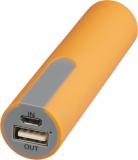 Akumulator powerbank pokryty gumą, 2200 mAh (13495703)