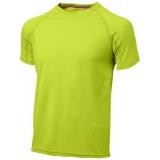 Slazenger Męski T-shirt Serve z krótkim rękawem z tkaniny Cool Fit odprowadzającej wilgoć (33019681)