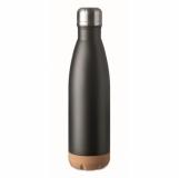 ASPEN CORK Dwuścienna butelka 600 ml z logo (MO6313-03)