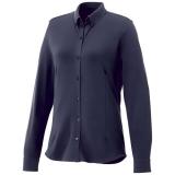 Elevate Damska koszula z długim rękawem o splocie pique Bigelow (38177490)