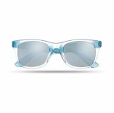 AMERICA TOUCH Lustrzane okulary przeciwsłoneczne z logo (MO8652-04)