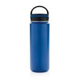 Szczelna butelka sportowa 500 ml, próżniowa, szeroki ustnik (P436.625)