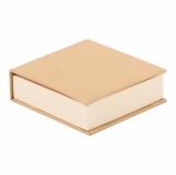 Blok z karteczkami, beżowy z logo (R73674.13)