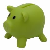 Skarbonka Piglet, jasnozielony z logo (R73949.55)