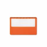 LUPA Lupa w kształcie karty kredytowej z logo (MO9540-10)