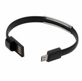 Bransoletka USB Bracelet, czarny  (R50189.02)