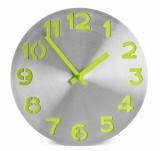 Zegar ścienny DIGIT zielony jasny (03059-13)