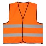 Kamizelka odblaskowa, pomarańczowy z nadrukiem (R17768.15)