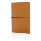 Ekologiczny notatnik A5, skórzana okładka (P772.219)