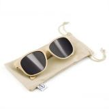 Okulary przeciwsłoneczne B'RIGHT ze słomy pszenicznej (V7375-00)