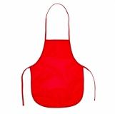 Fartuszek dla dzieci KeepTidy, czerwony z logo (R17139.08)