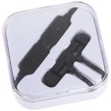 Avenue Metalowe słuchawki douszne Bluetooth® Martell Magnetic z futerałem (10830900)