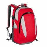 Plecak sportowy Visalis, czerwony z nadrukiem (R08637.08)