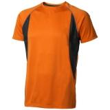 Elevate Męski T-shirt Quebec z krótkim rękawem z tkaniny Cool Fit odprowadzającej wilgoć (39015330)