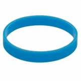 Ozdobna opaska na kubek izotermiczny, jasnoniebieski z logo (R00001.28)