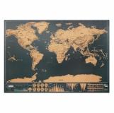 BEEN THERE Mapa świata - zdrapka z logo (MO9736-13)