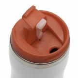 Kubek izotermiczny Askim 350 ml, czerwony z logo (R08225.08)