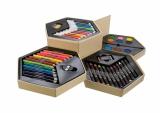 Zestaw malarski (kredki, pisaki, farby) (19808)