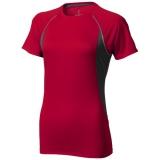 Elevate Damski T-shirt Quebec z krótkim rękawem z tkaniny Cool Fit odprowadzającej wilgoć (39016255)