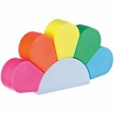 Zakreślacze - 5 kolorów z logo (2348606)