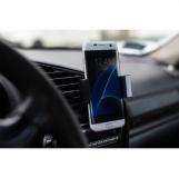 Uchwyt do telefonu komórkowego, czarny z logo (R64328.06)