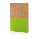 Ekologiczny, korkowy notatnik A5 (P773.927)