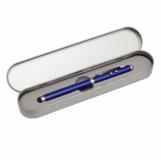 Długopis ze wskaźnikiem laserowym Supreme ? 4 w 1, niebieski  (R35423.04)