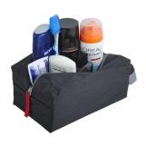 Kosmetyczka Travelbuddy, czarny/szary z logo (R08656)