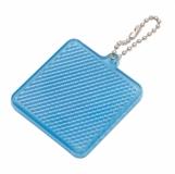 Światełko odblaskowe Square Reflect, niebieski z logo (R73164.04)