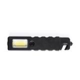 Latarka bezpieczeństwa 4 COB i 1 LED, przecinak do pasów, młotek bezpieczeństwa (V9727-03)