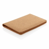 Ekologiczne, korkowe etui na karty kredytowe i paszport, ochrona RFID (P820.459)