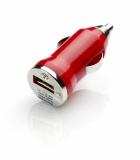 Ładowarka samochodowa czerwona (09037-04)