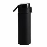 Kubek izotermiczny Oslo 500 ml, czarny z logo (R08425.02)