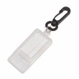 Gwizdek odblaskowy Whistle Reflect, biały z logo (R73209.06)