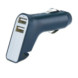 Wielofunkcyjna ładowarka samochodowa USB (P302.401)